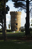 Castle living. A reproduction castle tower Stock Photo