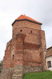 Castle in Liw, Poland. Stock Photo