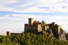 Castle of Loarre Royalty Free Stock Image