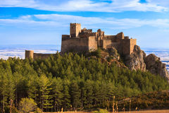 Castle of Loarre Royalty Free Stock Photography