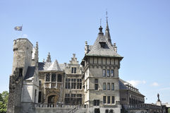 Castle located in the town of Antwerp, Belgium Stock Photos