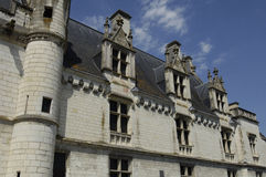 Castle of Loches Royalty Free Stock Photos