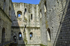 Castle of Loches in Indre et Loire. France, the castle of Loches in Indre et Loire Royalty Free Stock Photography