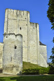 Castle of Loches in Indre et Loire Stock Photos