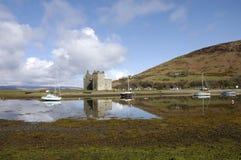 Castle at Lochranza in Scotland Stock Images