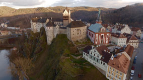 Castle. Locket castle in the Czech Republic Stock Photos