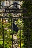 The Castle Lodge Stock Photo