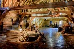 Castle Loevestein, Gelderland, Netherlands. Royalty Free Stock Images