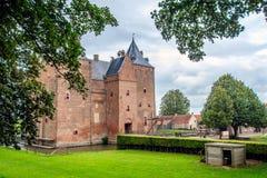 Castle Loevestein, Gelderland, Netherlands. Royalty Free Stock Photo