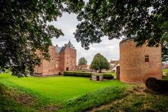 Castle Loevestein, Gelderland, Netherlands. Royalty Free Stock Image