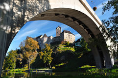 Castle Loket. Czech republic Royalty Free Stock Photos