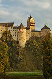 Castle Loket in the Czech Republic Royalty Free Stock Images
