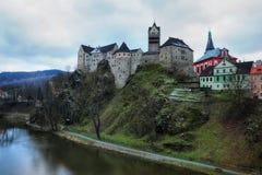Castle Loket Stock Image