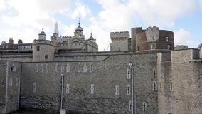 Castle in london Royalty Free Stock Photos