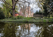 Castle Loppem. Loppem Castle is a castle situated in Loppem in the municipality of Zedelgem, near Bruges in West Flanders, in the Flemish Region of Belgium stock photos
