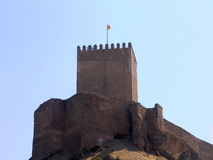 Castle, Lorca, Spain Stock Images