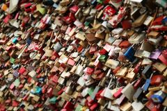 Castle, Love, Love Locks, Loyalty Stock Photo