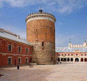 Castle in Lublin, Poland Stock Images