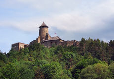The castle of Lubovna, Slovakia Royalty Free Stock Image