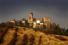Castle Lubovna. Castle in Stara Lubovna, Slovakia, East Europe royalty free stock photos