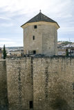 Castle of lucena Royalty Free Stock Image