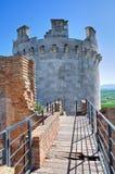 Castle of Lucera. Puglia. Italy. Royalty Free Stock Image