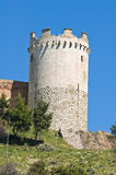 Castle of Lucera. Puglia. Italy. Stock Photos