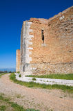 Castle of Lucera. Puglia. Italy. Stock Photography