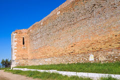 Castle of Lucera. Puglia. Italy. Royalty Free Stock Photography
