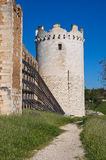 Castle of Lucera. Puglia. Italy. Royalty Free Stock Photo