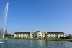 Castle Ludwigsburg #1 Stock Images