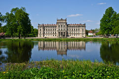 Castle in Ludwigslust Stock Images