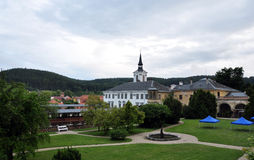 Castle - Lysice. The Czech Republic, Eurpe Royalty Free Stock Images