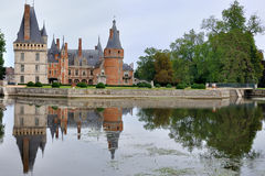 Castle of Maintenon Stock Image