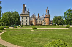 Castle of Maintenon in Eure et Loir Stock Photos