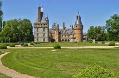 Castle of Maintenon in Eure et Loir Stock Photos