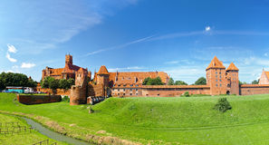 The castle Malbork Stock Photography