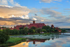 Castle in Malbork Royalty Free Stock Image