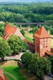 Castle of Malbork Royalty Free Stock Photography