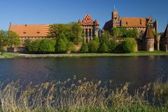 The castle Malbork Stock Photo