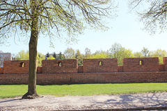 Castle in Malbork Royalty Free Stock Photography