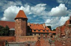 The castle in Malbork - Poland. Stock Photo