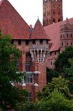 The castle in Malbork Royalty Free Stock Image