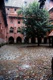 The castle in Malbork Royalty Free Stock Photo