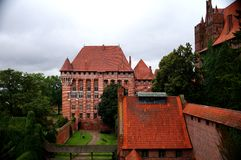 The castle in Malbork Royalty Free Stock Photos