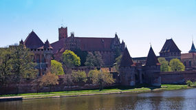 Castle in Malbork Stock Photo