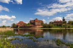 The castle in Malbork Stock Image