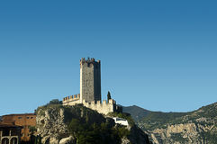 The Castle at Malcesine Lake Garda Italy Royalty Free Stock Image