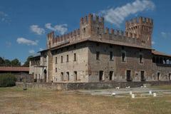 The Castle of Malpaga Stock Photo