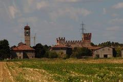 The Castle of Malpaga Royalty Free Stock Image